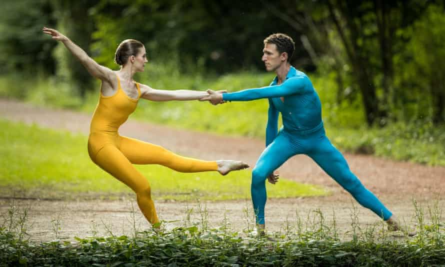 Suite for Two, by Merce Cunningham, who is the subject of a new eponymous documentary.