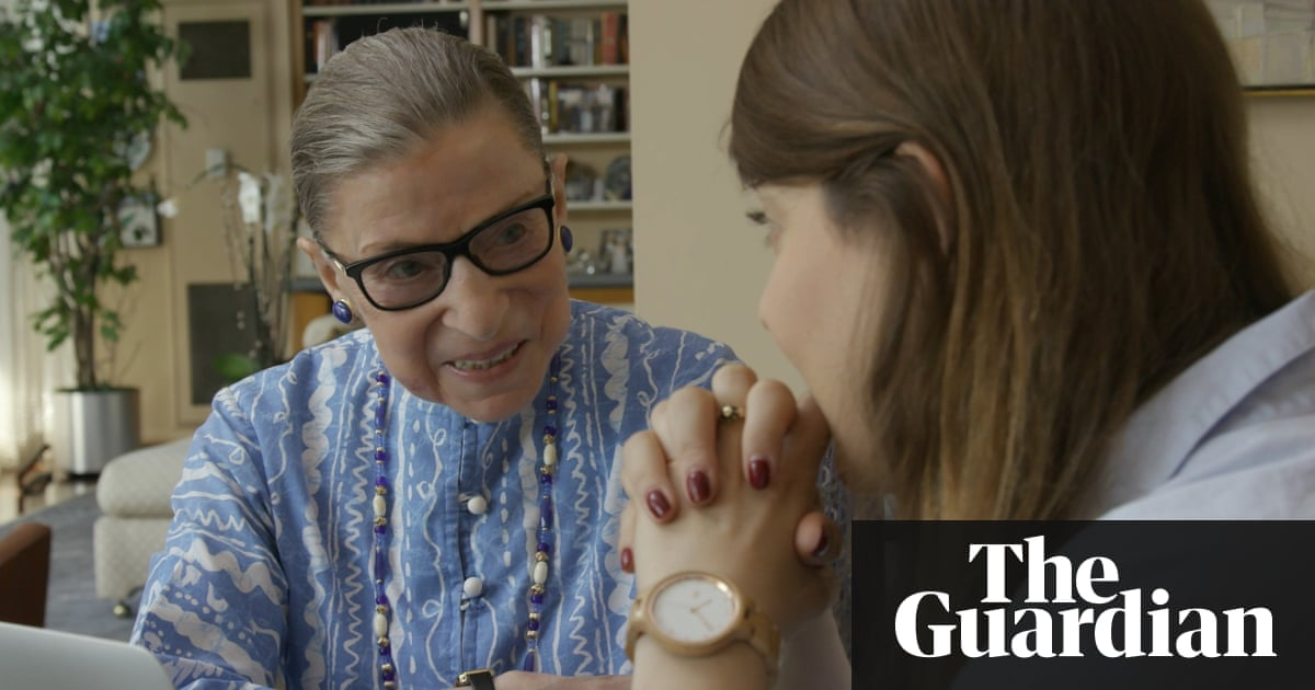 'A tremendous legacy': capturing the life of Ruth Bader Ginsburg on film
