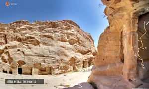 Google Street View launches tour of Petra