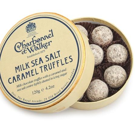 Charbonnel et Walker - Milk Sea Salt Caramel Truffles -=