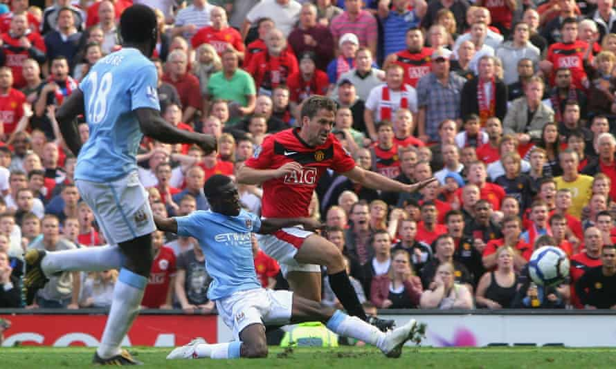 Michael Owen demonstrated his trademark eye for goal with his late winner in the Manchester derby.