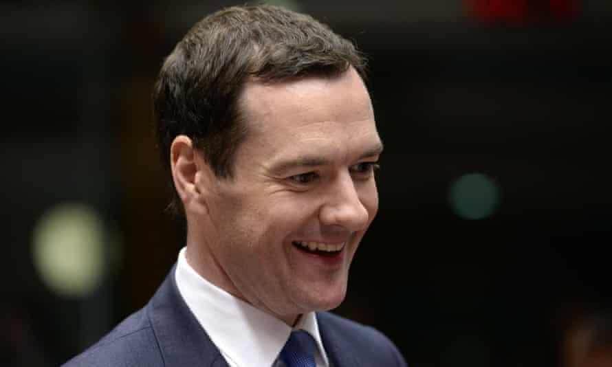 George Osborne in Brussels