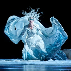 Carla Mendonça as the White Witch in The Lion, the Witch and the Wardrobe at West Yorkshire Playhouse