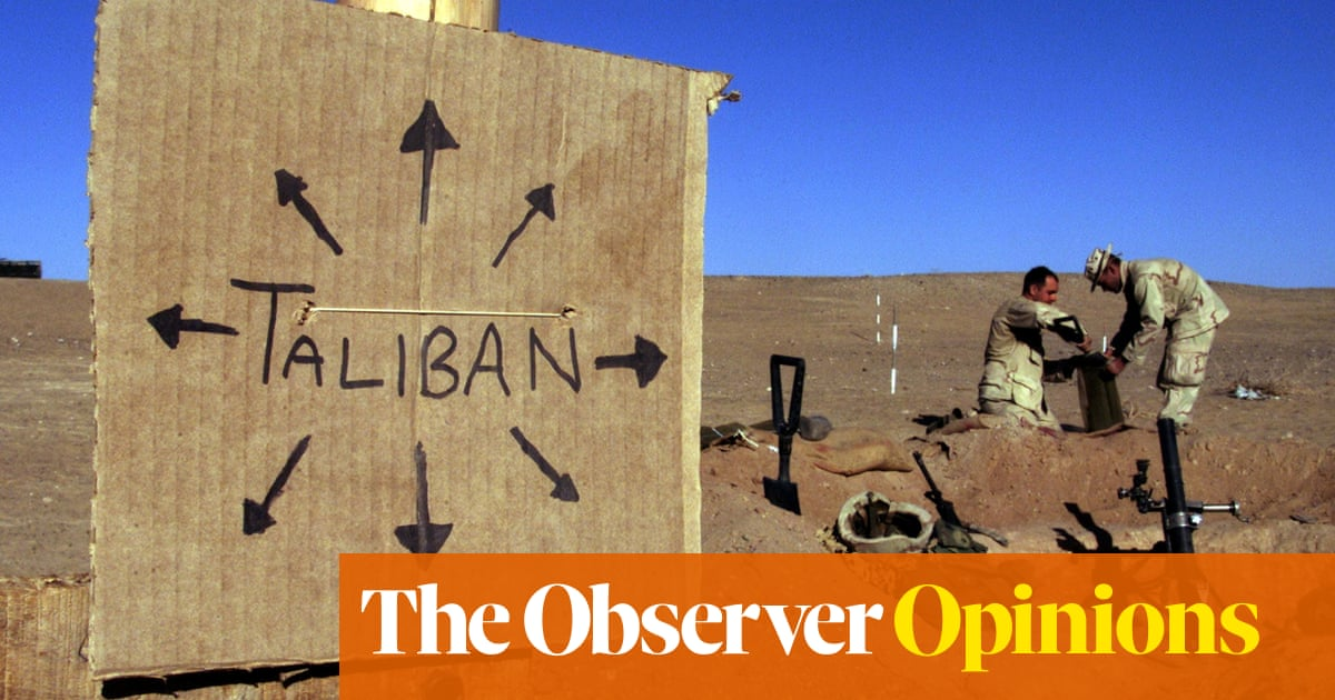Catastrophe stalks Afghanistan as the US and UK dash for the exit
