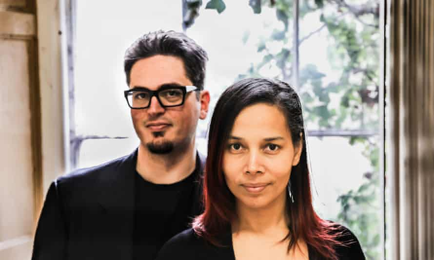 Unusual musical connection that really works … Francesco Turrisi and Rhiannon Giddens.