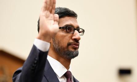 Google CEO Sundar Pichai testified before the House Judiciary committee on Tuesday.