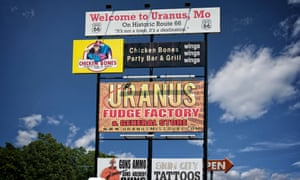 sign of Uranus Fudge Factory