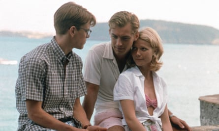 Getting away with it: a scene from The Talented Mr Ripley (1999), starring Matt Damon, Jude Law and Gwyneth Paltrow.