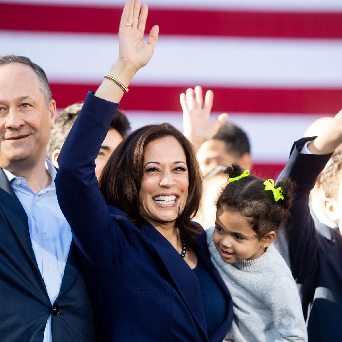 Is It Feminist To Be Obsessed With Kamala Harris S Husband Life And Style The Guardian