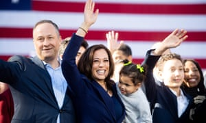Kamala Harris Trailblazer Who Went From Joe Biden S Rival To Running Mate Us News The Guardian