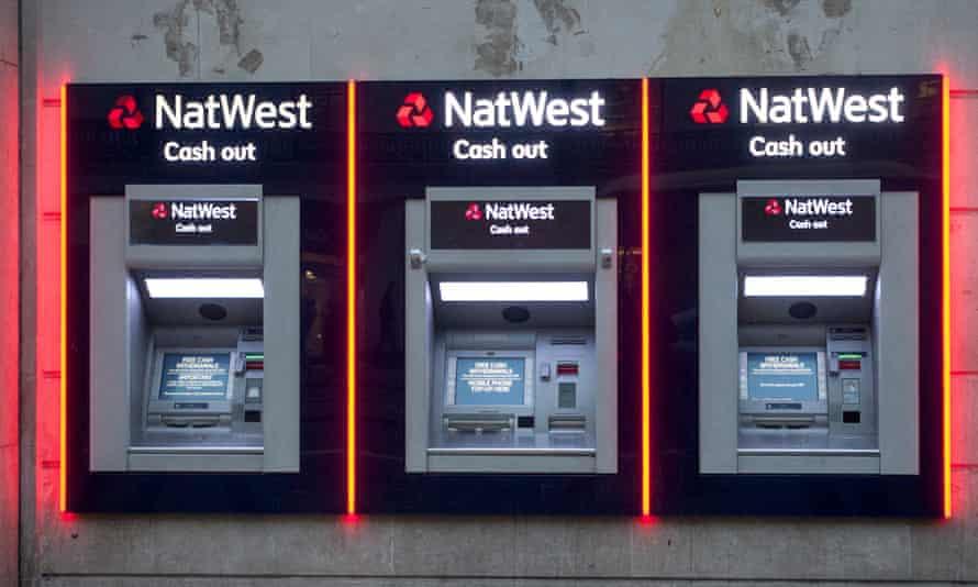 cash machines - three in a row