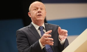 The work and pensions secretary, Damian Green,