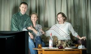 Tom Brooke as Alexander Litvinenko, MyAnna Buring as Marina Litvinenko, Amanda Hadingue as Lluba in A Very Expensive Poison.