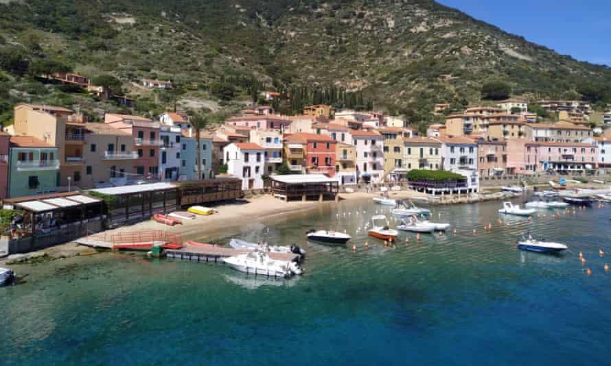 The tiny Italian island of Giglio