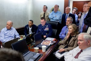 One of Pete Souza's most famous images