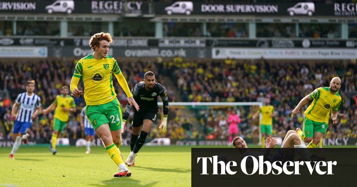 Winless Norwich rue missed chances in stalemate with Brighton - the guardian