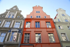 Traditional merchants houses in Stralsund.