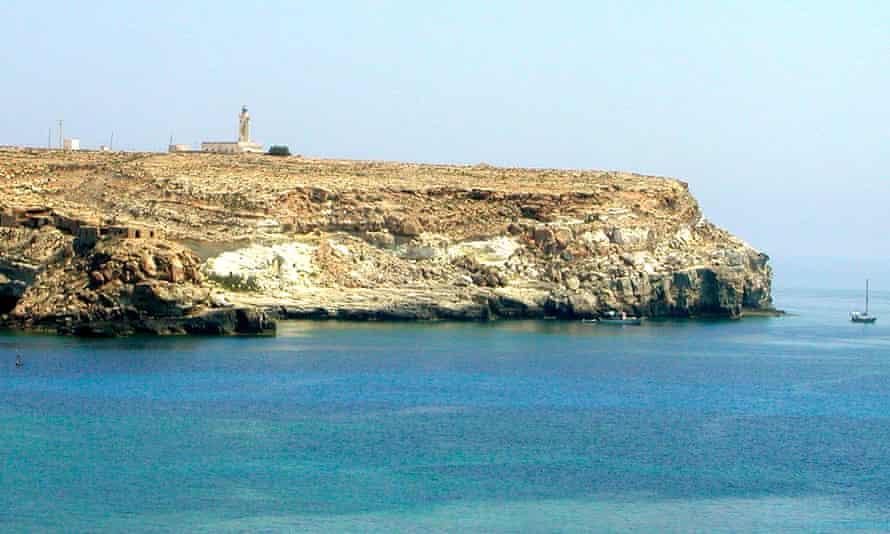 lampedusa,sicilyLampedusa, Italy - September 02, 2002: View of Lampedusa lighthouse