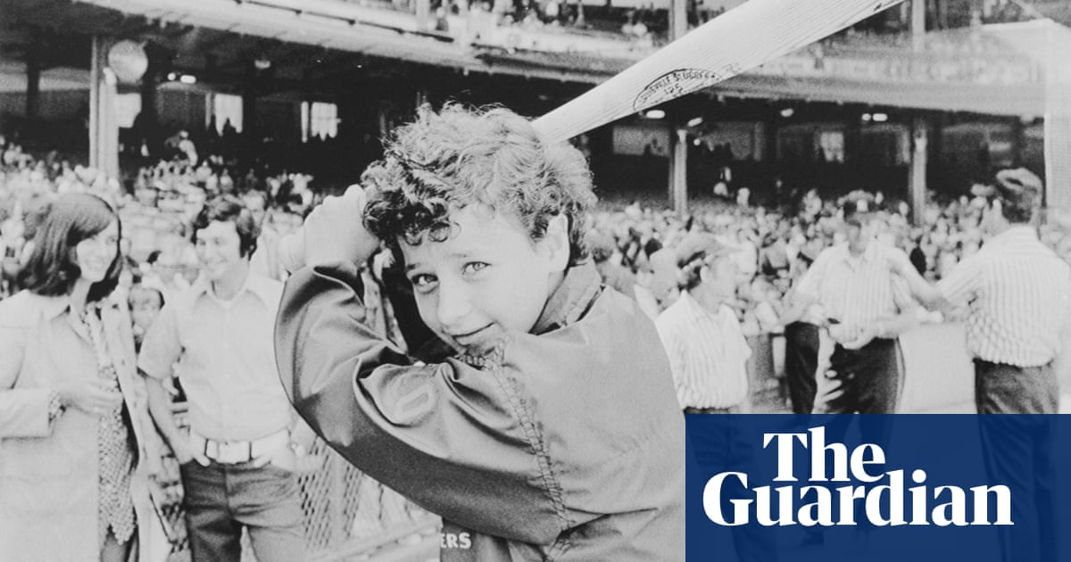 Maria Pepe: the New Jersey girl who sued to play baseball with the boys | Sport | The Guardian