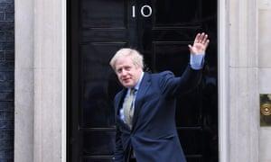 Prime Minister Boris Johnson in Downing Street, London, UK - 13 Dec 2019