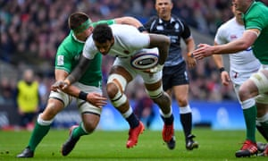 Courtney Lawes, seen here being tackled by Ireland's CJ Stander, could be in for a long 2020.