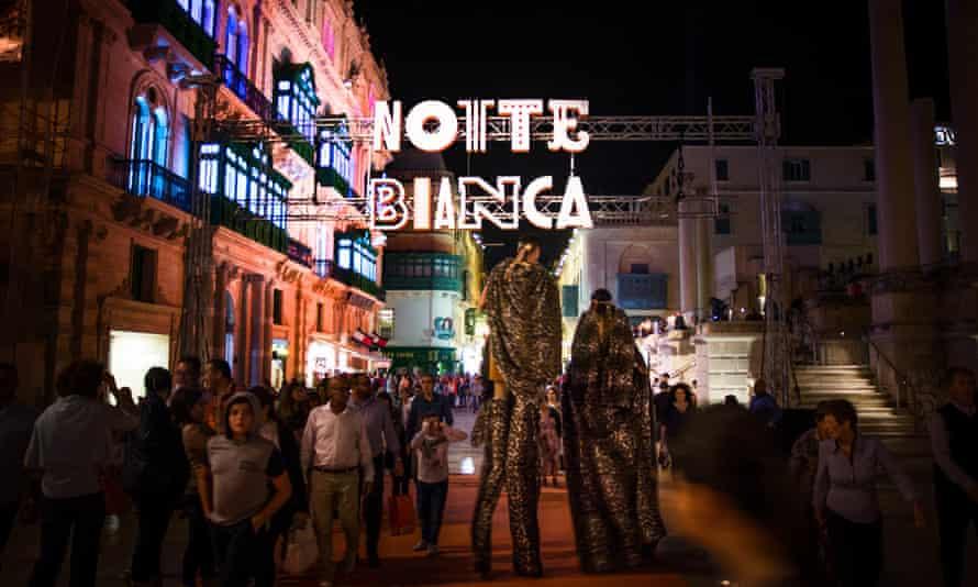 Notte Bianca, Malta