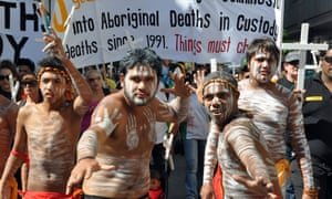Indigenous deaths in custody protest