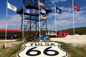OK - Tulsa Route 66.