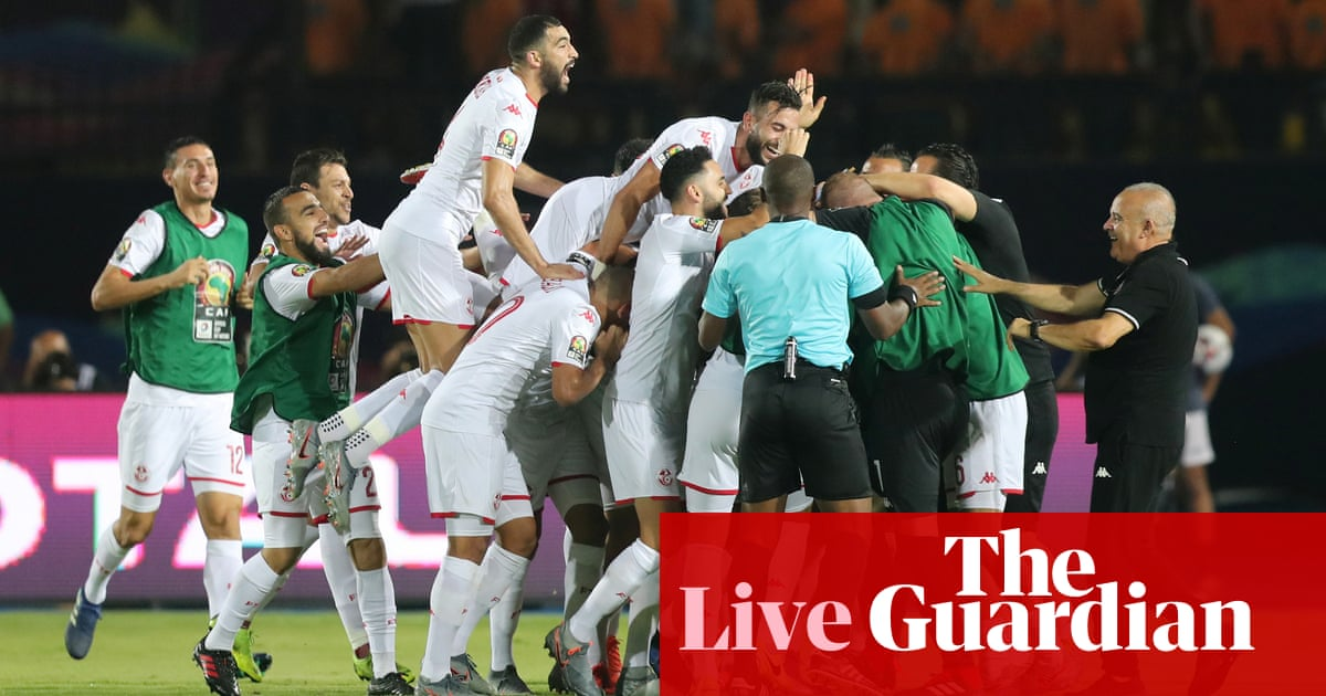 Madagascar 0-3 Tunisia: Africa Cup of Nations quarter-final – as it happened