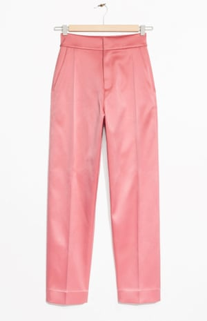 High-waisted tapered trousers, £69, by & Other Stories.