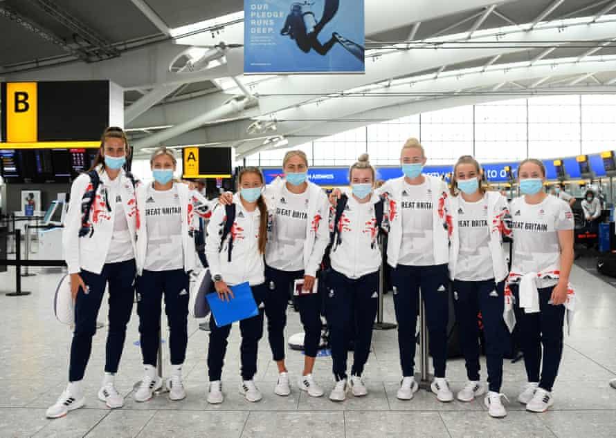 El equipo de GB está en camino.