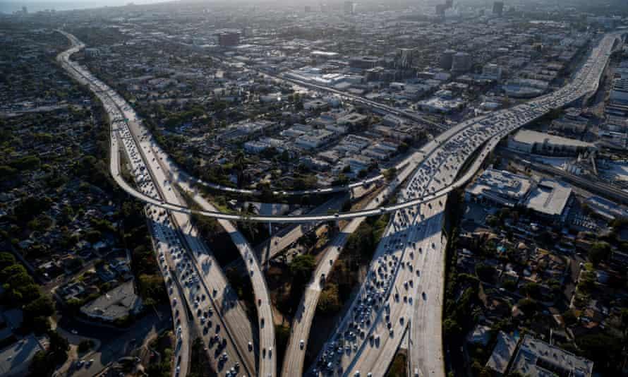Rush hour, Los Angeles, California