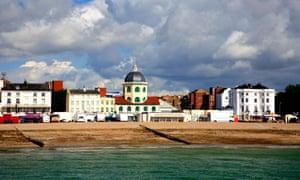 Worthing seafront