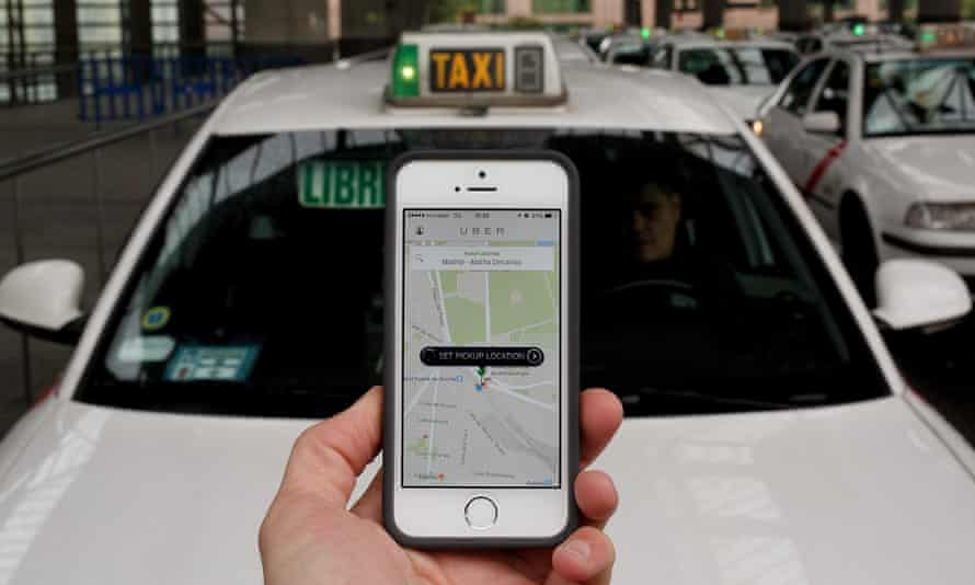Uber has not explicitly told drivers that their movements are being tracked. The company says it is informing users only when it needs to access the data after a company complaint.