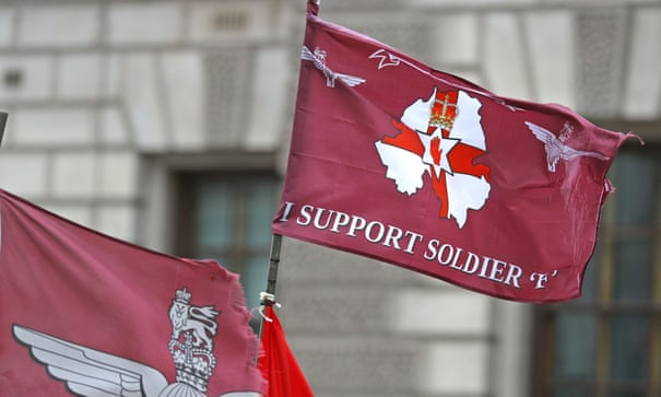 The DUP's support for Soldier F protests shows how extreme it is