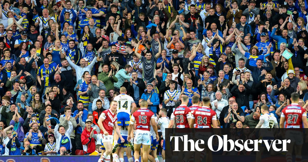 Rugby league fans return: 'They're unique – I can't wait to see them'