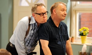 Vic and Bob in House of Fools.
