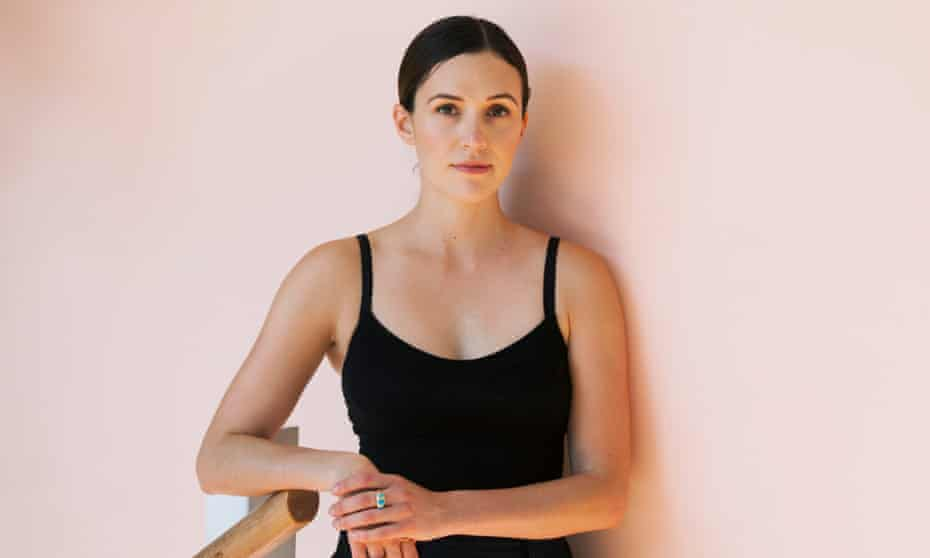 Adriene Mishler at Yoga on the Lane, east London.