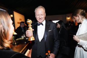 Stellan Skarsgård attends the Golden Globes official afterparty, hosted by the Hollywood Foreign Press Association, at the Beverly Hilton hotel