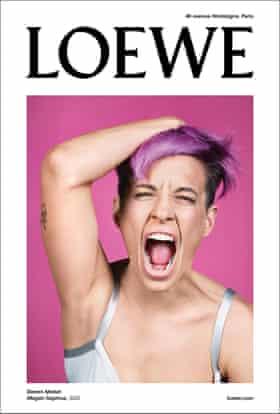 Megan Rapinoe was the face of Loewe
