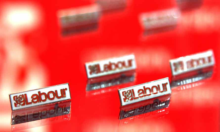 Labour party badges