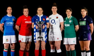 The Women's Six Nations captains
