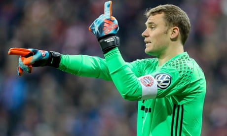 Manuel Neuer: 'I don't feel the fear. I'm always thinking positive'