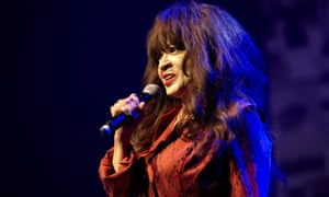 Ronnie Spector … Pictured in concert in London.
