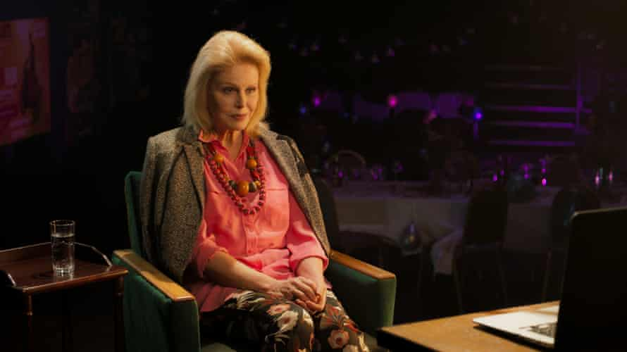 'We did it as if I was on a Zoom call to Stephen' ... Joanna Lumley in The Picture of Dorian Gray