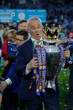 Leicester City manager Claudio Raneiri