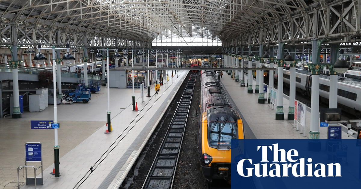 Train services across Britain to be stripped back from Monday