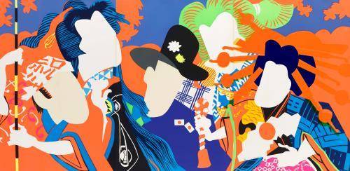 Doll Festival, 1966, by Shinohara Ushio