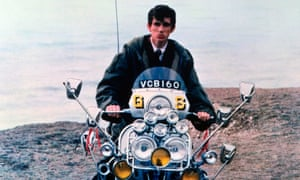'Making your whole life revolve around a silly scooter' … Phil Daniels as Jimmy.