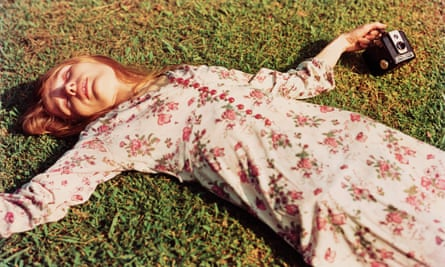 'Where the substance is: in the buttons and the dress as much as the woman wearing it' … Untitled, c 1975 by William Eggleston.